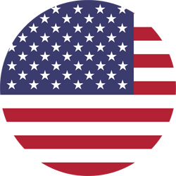 The United States flag icon.