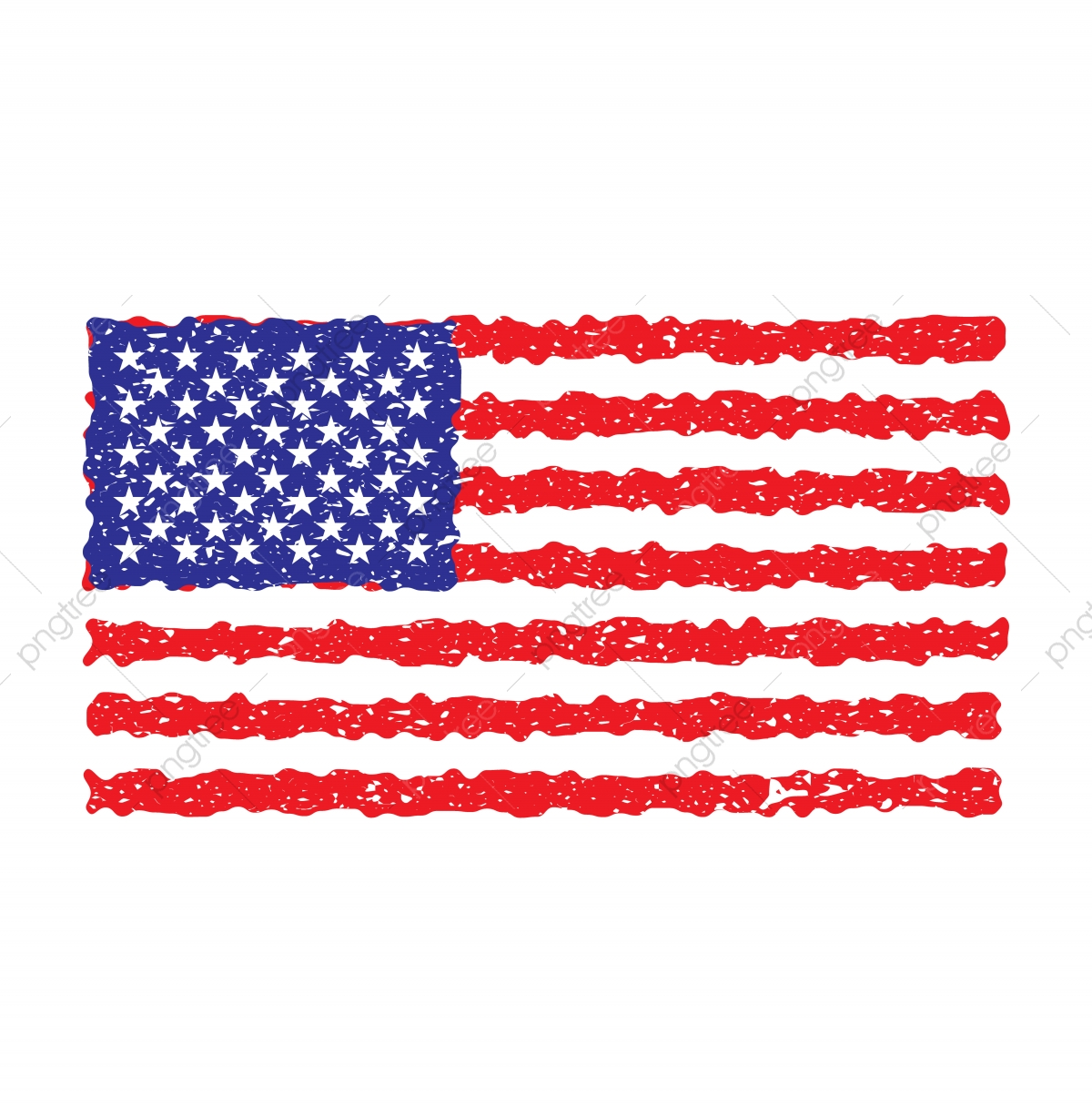Grunge Usa Flag Vector American Flag, Flag, American, Usa.