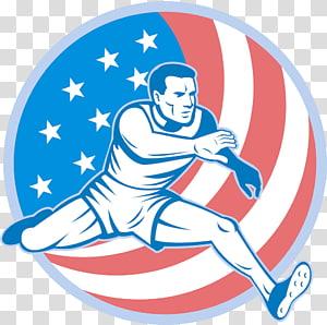 Track and field athletics Cartoon All.