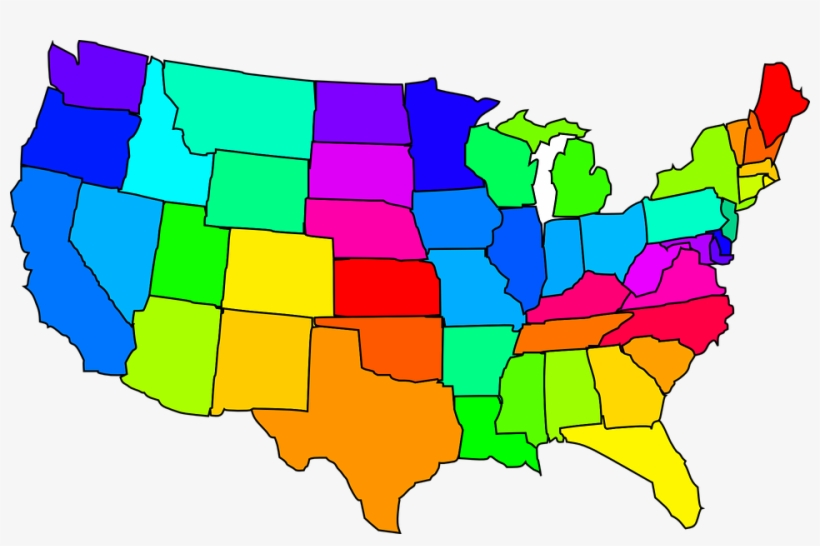 Usa Map Clipart.