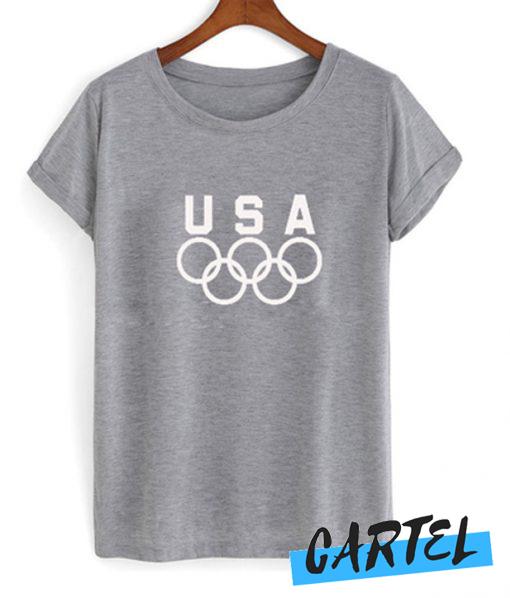USA olympic logo awesome t.