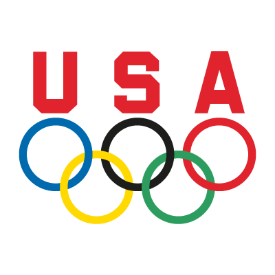 USA Olympic Team logo vector (.EPS, 387.54 Kb) download.
