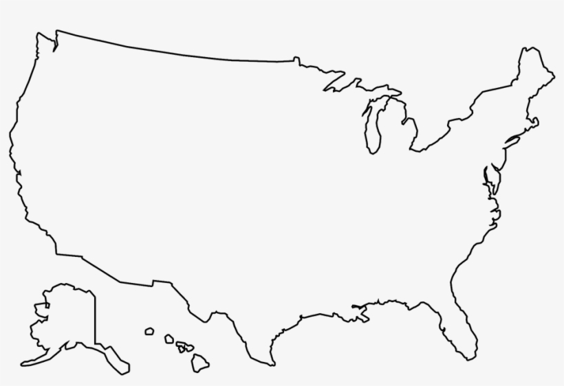 Usa Outline Png , (+) Pictures.