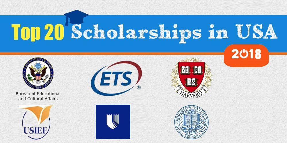 950+ USA scholarships for International students [2018.