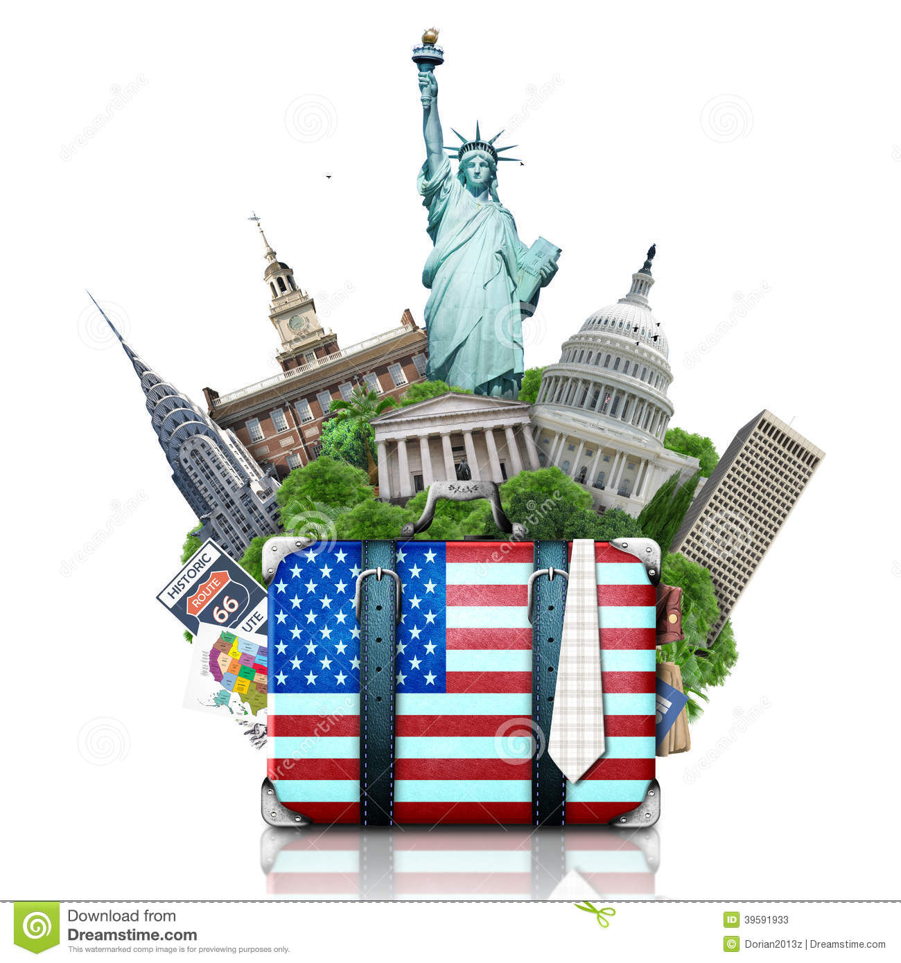 USA, Landmarks USA, Travel Stock Photo.