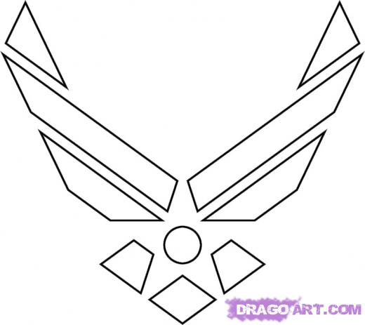 Air Force Insignia Clip Art.