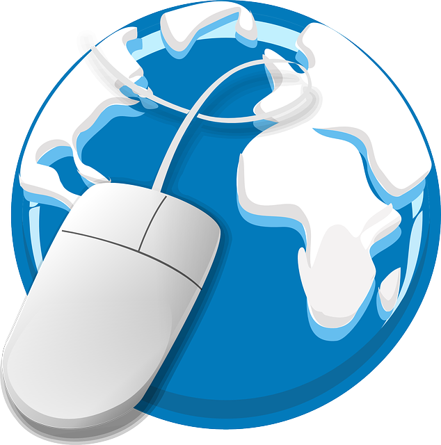 Free vector graphic: Internet, Web, Globe, Mouse, Earth.