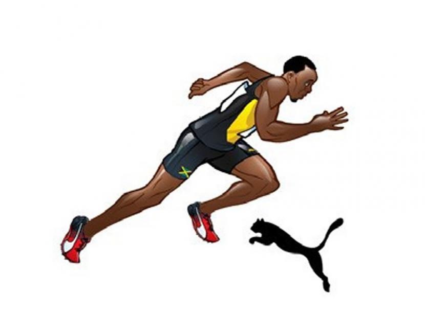 Usain Bolt Clipart.