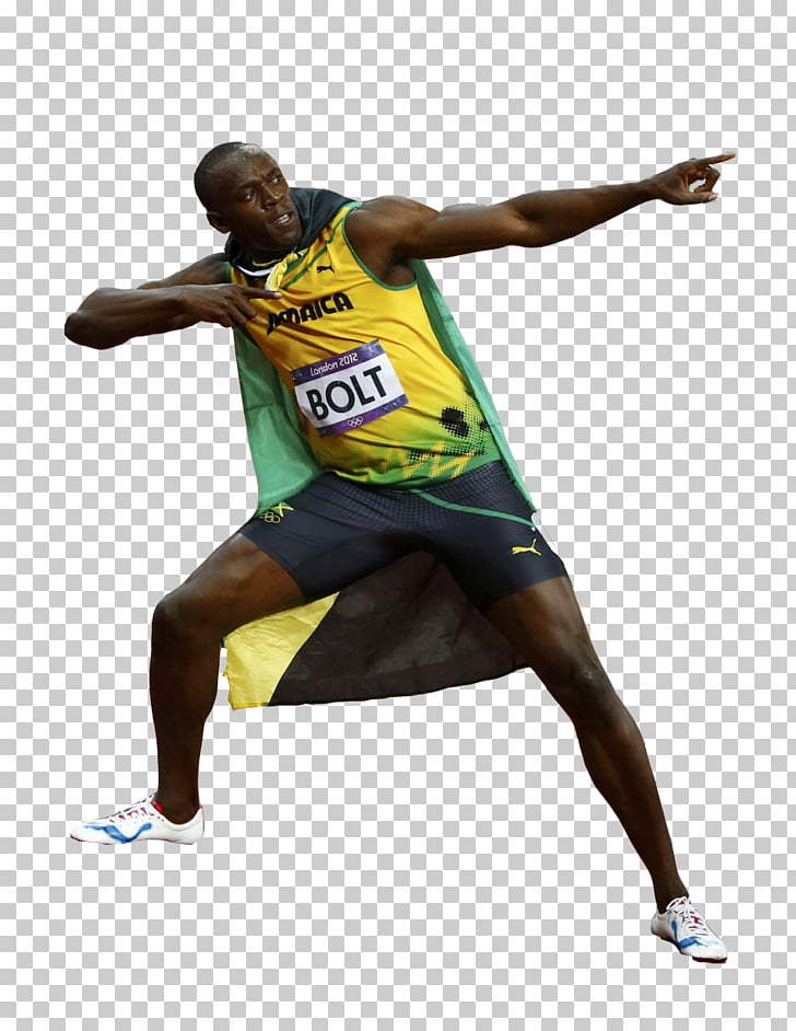 Youtubers Life App Store Sticker, Usain Bolt Pic PNG clipart.