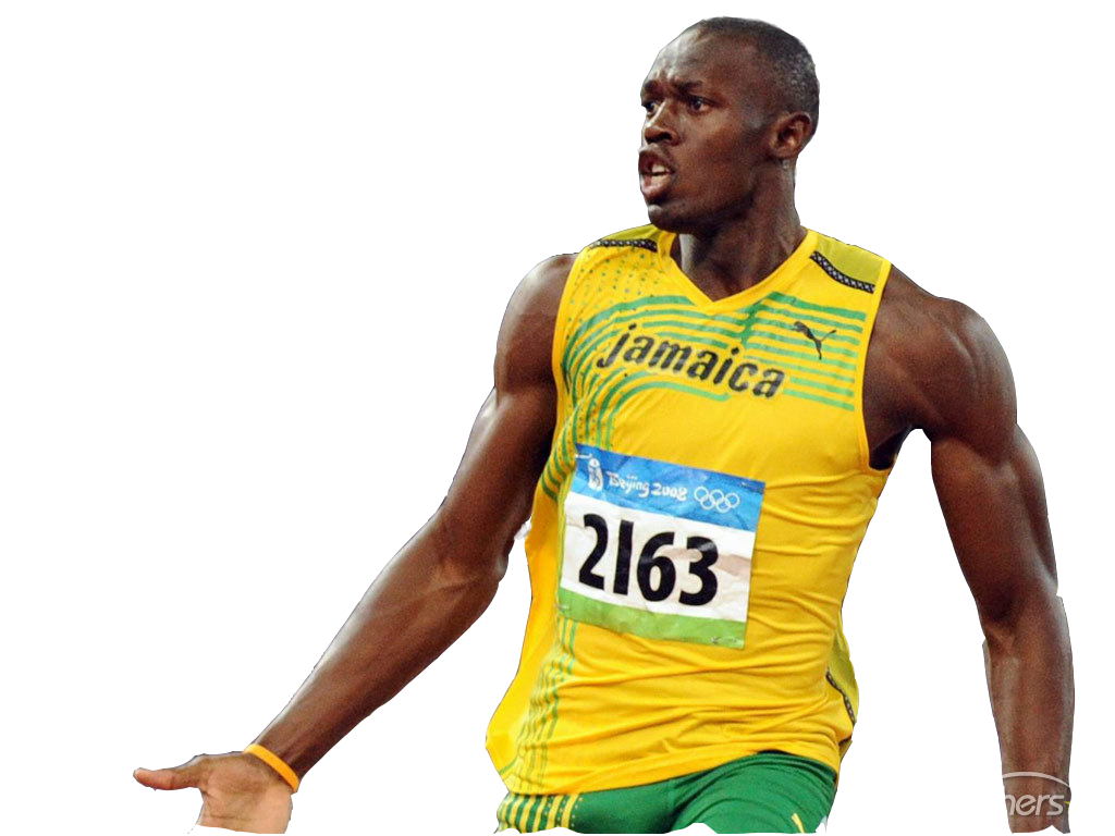 Download Usain Bolt Clipart HQ PNG Image in different.