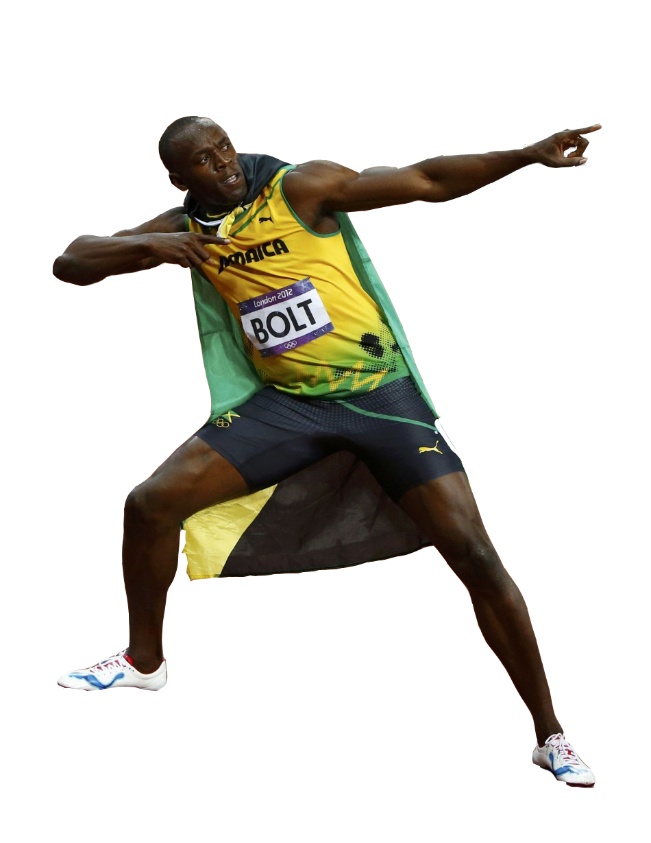Download Usain Bolt PNG Pic.