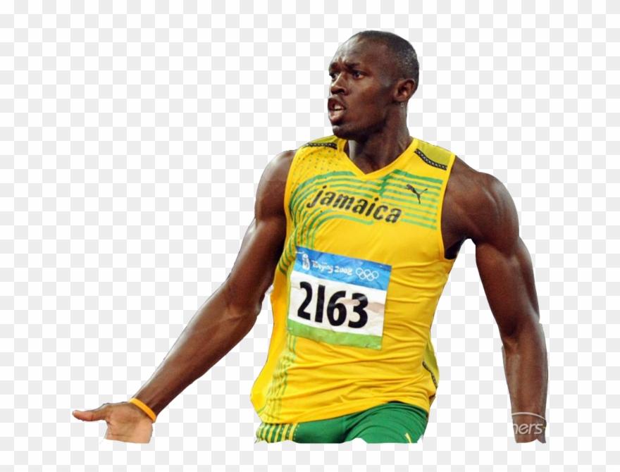 Usain Bolt Png Clipart Transparent Png (#3127795).