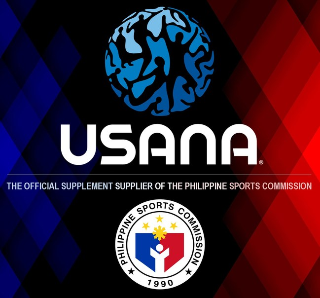 USANA Joins Forces with Philippines Sports Commission.