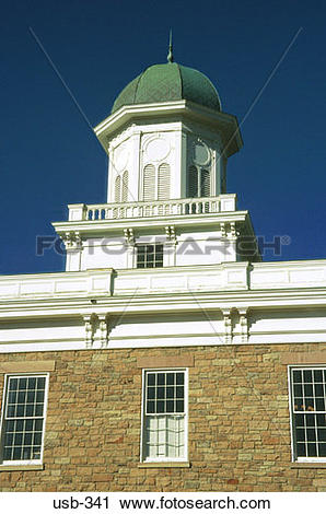 Stock Photography of Turret on Victorian Building Salt Lake City.