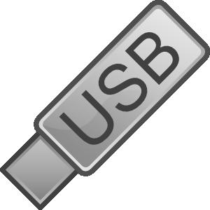 Usb Flash Drive Icon Clip Art at Clker.com.