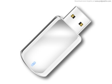 USB flash drive icon (PSD) Clipart Picture Free Download.