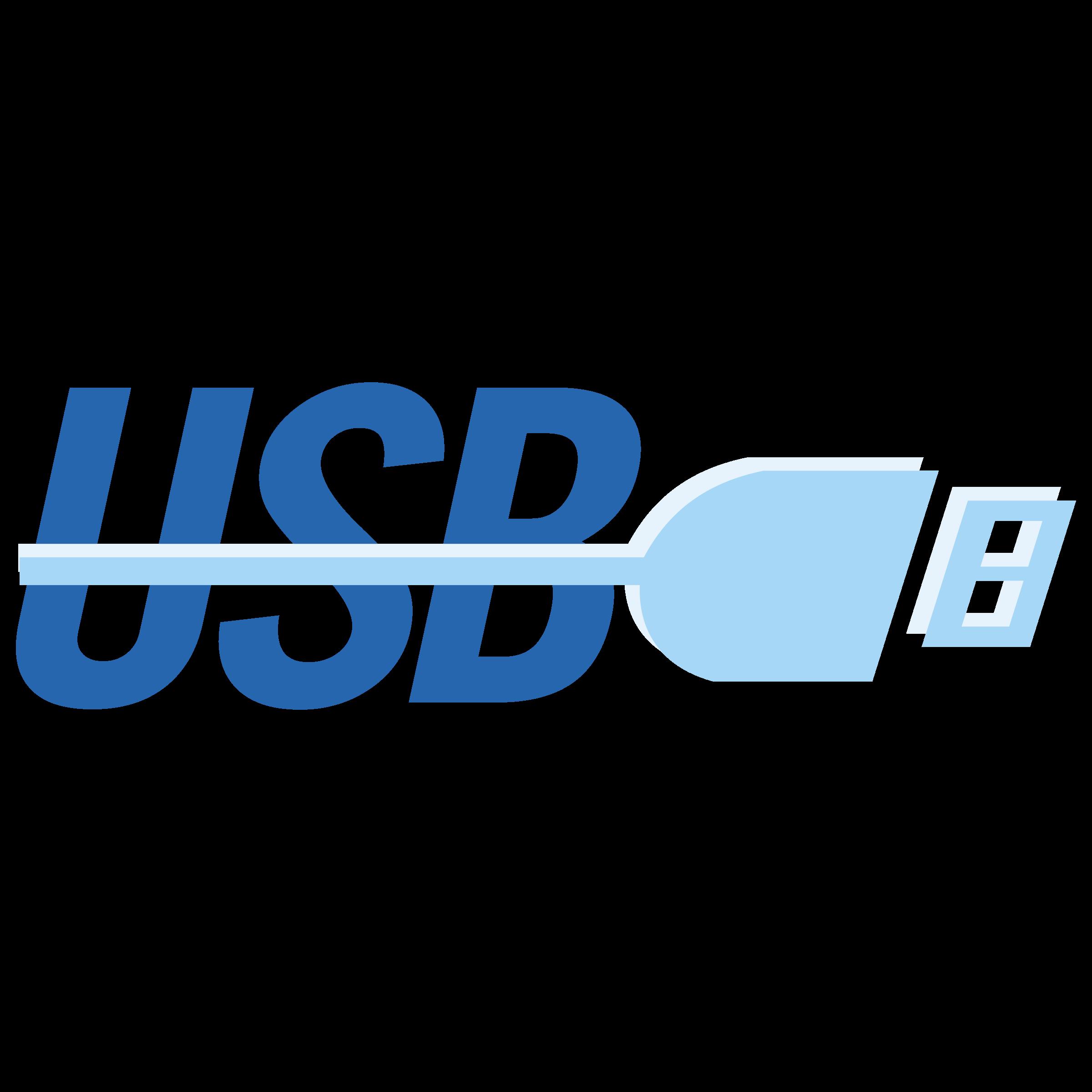 USB Logo PNG Transparent & SVG Vector.