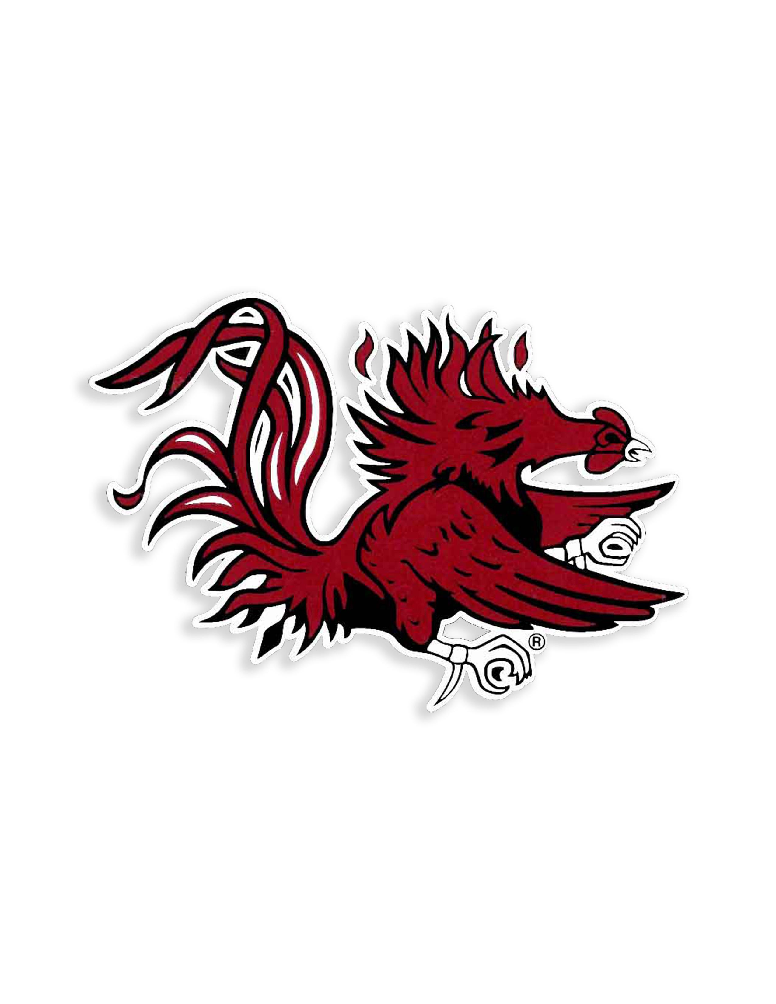 USC Gamecock Logo Decal.