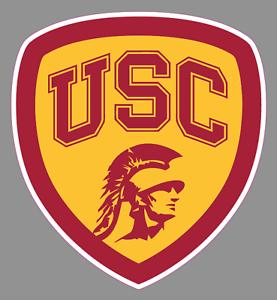 Details about USC Trojans Shield Logo 6\