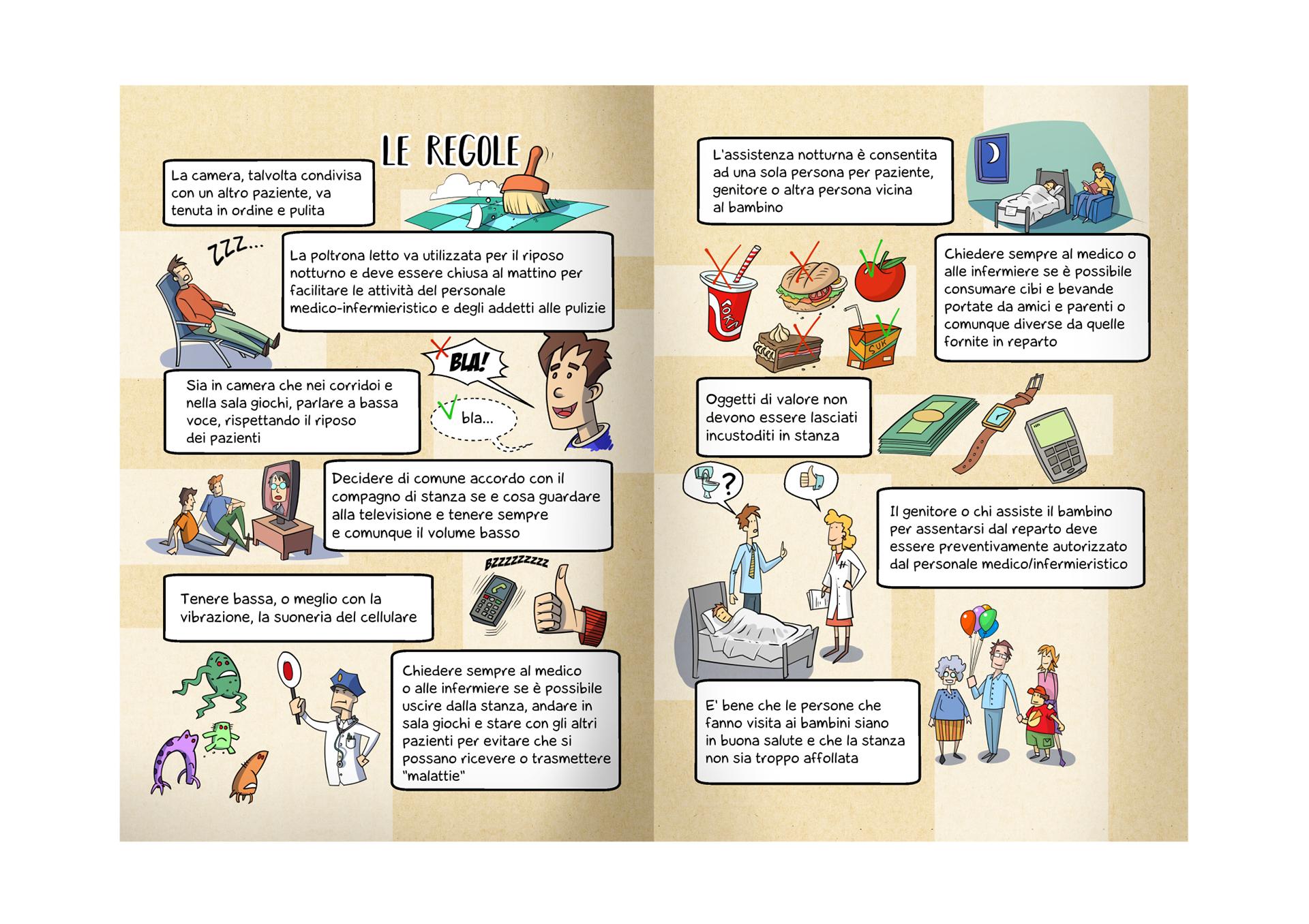 Leaflet for pediatric dep. on Behance.