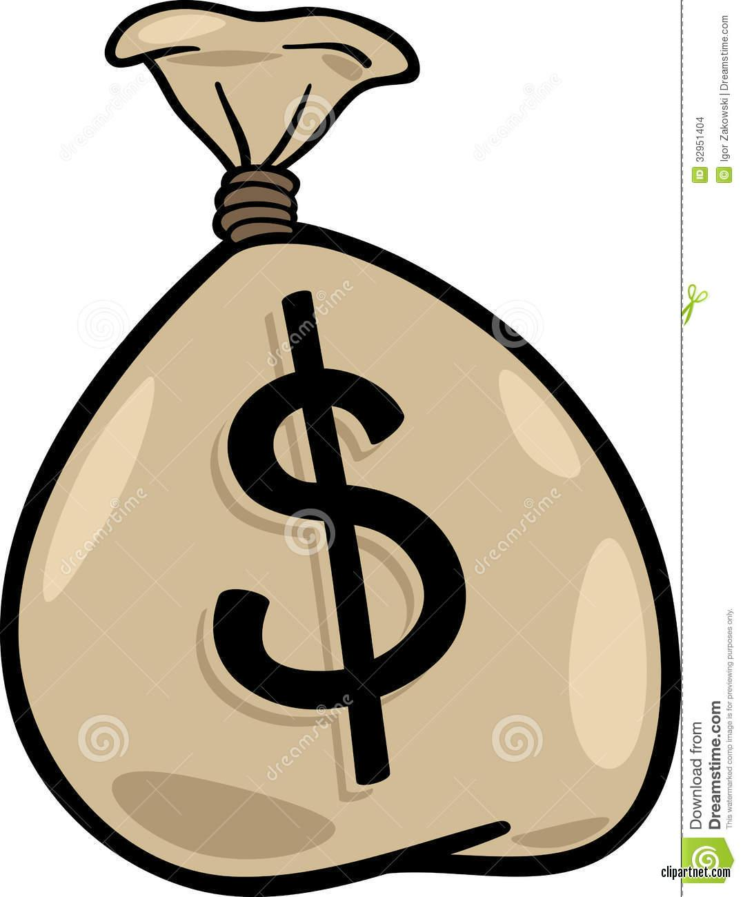23712 Clip Art Graphic Of A Green Usd Dollar Sign, Usd Free.