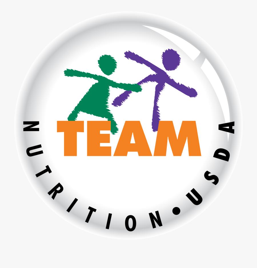 Team Nutrition Usda Logo , Free Transparent Clipart.