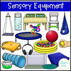 Sensory Room Clipart.
