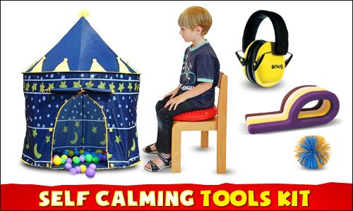 Self Calming Sensory Tool Kit.