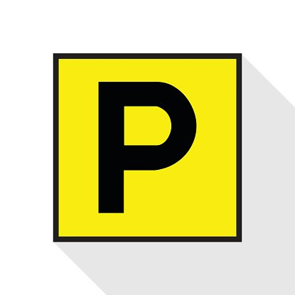 parking sign icon Vector EPS10, Great for any use. Clipart.