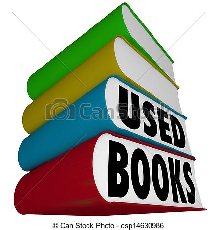 Book Clip Art for Sale Used.