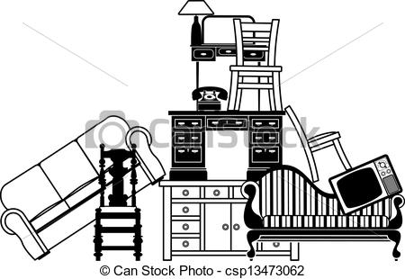 Used Furniture Clipart.