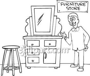 Furniture Sale Clip Art.