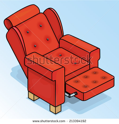 Recliner Chair Stock Images, Royalty.