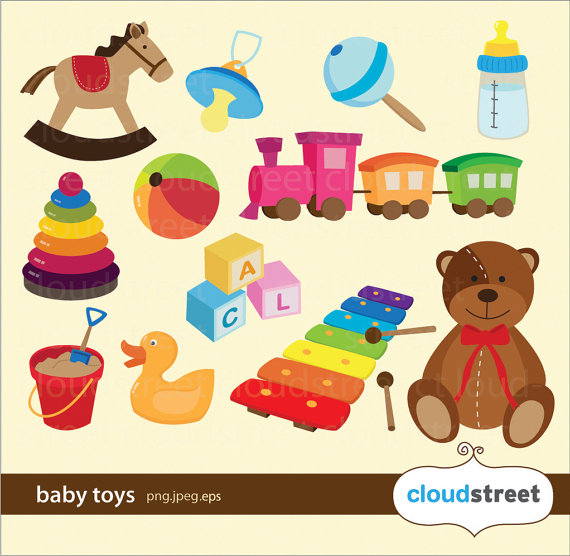 Baby Toys Clipart Free.