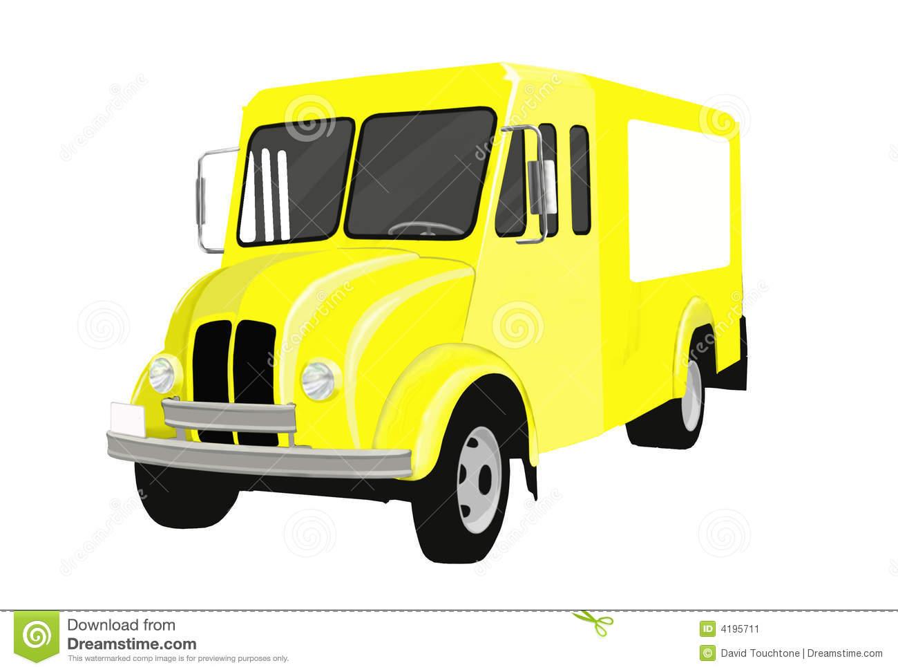 Milk Truck Clipart.
