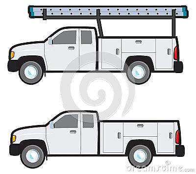 Work truck clipart.