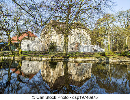 Picture of Castle Mellenthin on the island Usedom (Germany.