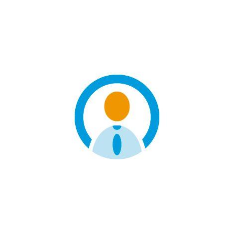 Worker Logo, Job Logo, Working Logo, User Logo, Bot Logo.