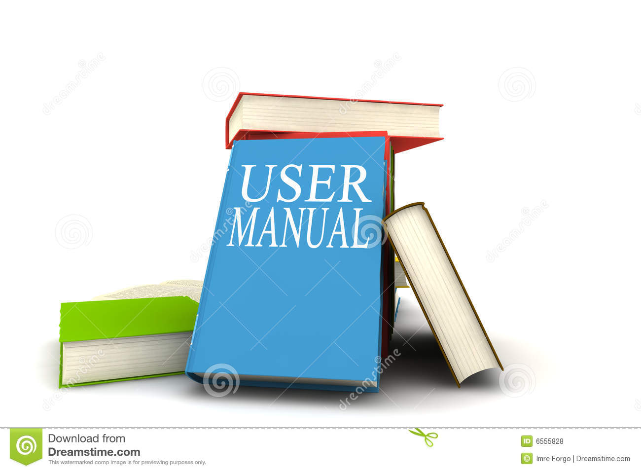 User Manual Books Royalty Free Stock Photos Manual Guide