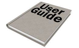 User Guide Manual Book Stock Illustrations.