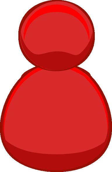 Single User Red Clip Art at Clker.com.