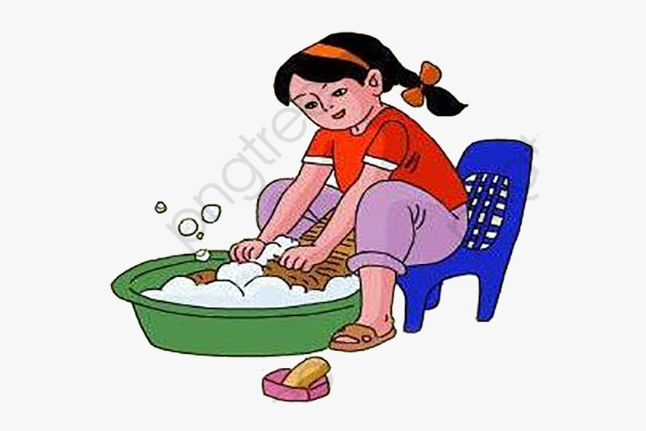 Uses Of Water Washing Clothes, Cliparts & Cartoons.