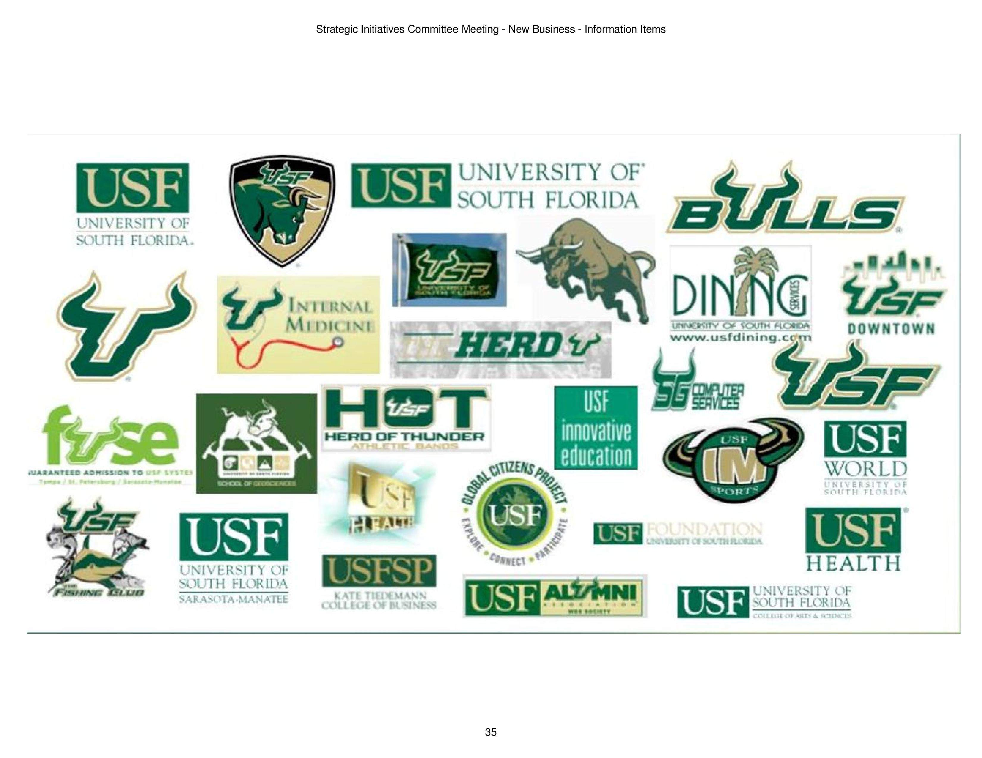 USF works to remake its muddled brand. Right now, \'it doesn.