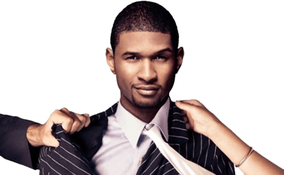 Usher Wanted transparent PNG.