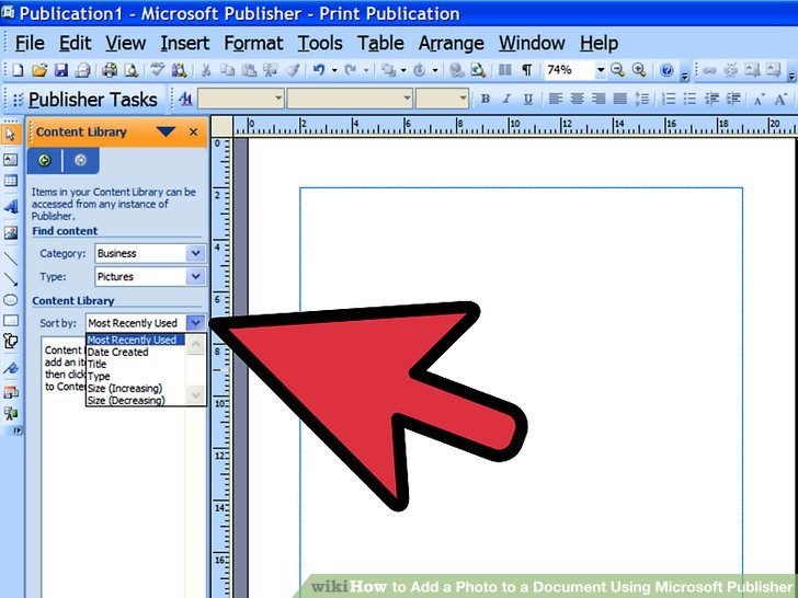 4 Ways to Add a Photo to a Document Using Microsoft Publisher.