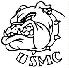 Marine Bulldog Clipart.