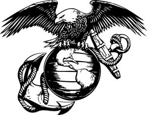 Usmc Eagle Globe Anchor Clipart.
