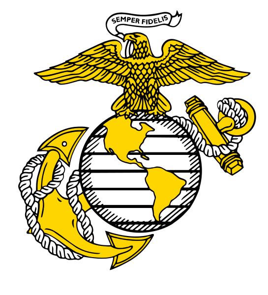 United States Marine Corps Eagle Globe and Anchor.