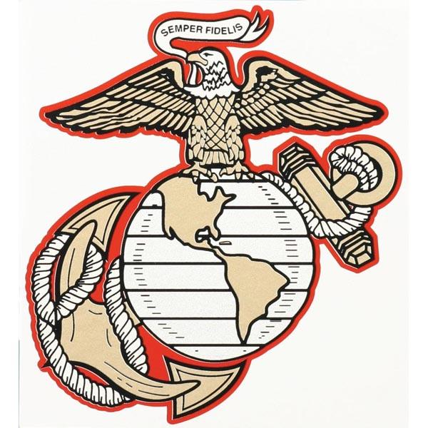 Eagle Globe And Anchor Clipart.