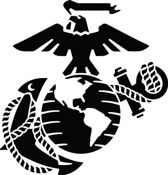 Eagle, Globe and Anchor.